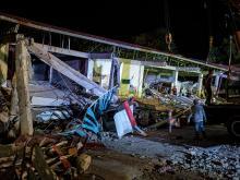 После землетрясения на Филиппинах. 23 апреля 2019 года  Getty Images. Фото: Э.Акаян