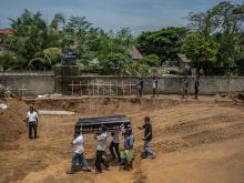 Похороны жертв пасхальных терактов на Шри-Ланке. 23 апреля 2019 года  Getty Images. Фото: К.Корт