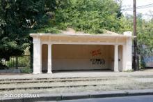«Бельгийская» остановка на Фонтанской дороге, 106. Снимок из коллекции проекта «Старая Одесса в фотографиях»