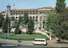 Одесса. Санаторий «Молдова». Фотограф В. Сметанин. 1987 г.