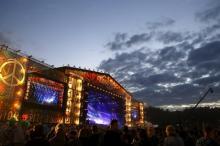 Главная сцена фестиваля «Вудсток» в 2015 году. Фото: Kacper Pempel / Reuters