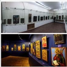 Иконный зал: до и после ремонта