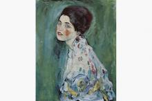 Картина Густава Климта «Портрет женщины»