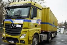 Доставка гуманитарной помощи из Германии. Фото с Официального сайта Одессы