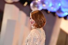 Эмма Стоун. Фото: Екатерина Чеснокова / РИА Новости