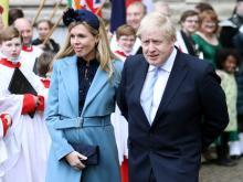 Борис Джонсон и Кэрри Саймондс в марте 2020 года. Getty Images. Фото: К.Джексон