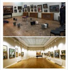 Серебряковский зал: до и после ремонта