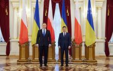 Анджей Дуда и Владимир Зеленский. Фото: president.gov.ua