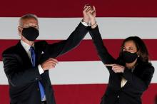 Джо Байден и Камала Харрис. Фото: Kevin Lamarque / Reuters