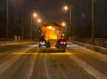 Расчистка дороги в Одессе. Фото с официального сайта города