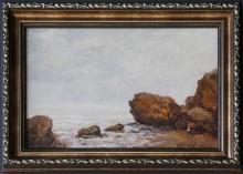 Картина с выставки в «Буфете на Малом Фонтане»