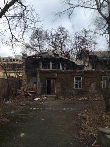 На фото (архив): здание бывшего детсада в переулке Каркашадзе