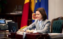 Майя Санду. Фото: Президентура Республики Молдова/facebook