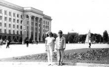 Площадь им. Октябрьской революции (Куликово поле), 1972 г.