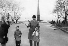 Парк Шевченко (Александровский), начало 1960-х годов