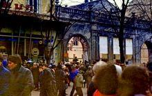 Кафе «Молодежное» на Дерибасовской, 1980-е годы