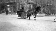 Пушкинская угол Кондратенко (Бунина), фотограф Жозеф Даву, 1919 г.