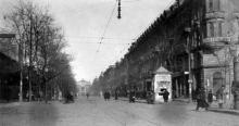 Ришельевская угол Почтовой (Жуковского), фотограф Жозеф Даву, 1919 г.