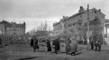 Соборная площадь, фотограф Жозеф Даву, 1919 г.