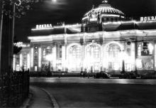 Вокзал и привокзальная площадь, фото Людмилы Ковалевой, 3 мая 1969 г.