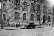 Музей естествознания в доме № 25 на ул. Бебеля (Еврейской). 1930-е годы