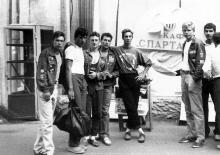 Дерибасовская, возле кафе «Спартак», находилось в правом крыле гостиницы «Спартак», 1989 г.