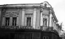 Магазин «Радуга» с ул. Советской Армии (Преображенской)