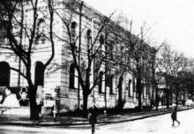 Бебеля (Еврейская) угол Ленина (Ришельевской), 1969 г.