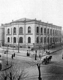 Еврейская угол Ришельевской, Главная синагога