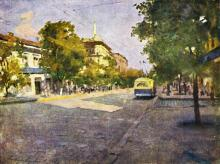 На улице Дерибасовской, фотограф Ian Berry, 1982 г.