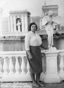 На Куяльнике, 1959 г.