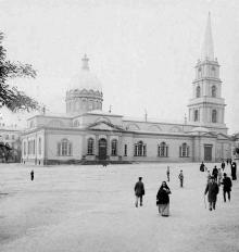 Соборная площадь, Спасо-Преображенский собор, 1898 г.