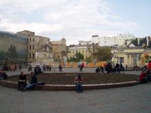 Греческая площадь, фотограф Сергей Осташко, 2008 г.