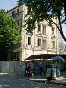 Дерибасовская, гостиница «Спартак» ((«Империал») перед сносом, фотограф Сергей Осташко, 2008 г.