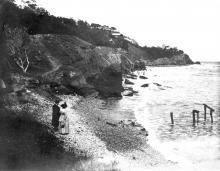 Берег в районе 10-й Фонтана, конец XIX века