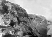 Берег в районе 10-й Фонтана, 1935 г.