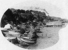10-я станция Фонтана, 1900-е годы