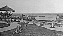 Александровский парк, сельскохозяйственная и фабрично-заводская выставка, 1884 г.