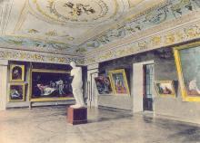 Зал Городского Музея, почтовая открытка, 1900-е годы