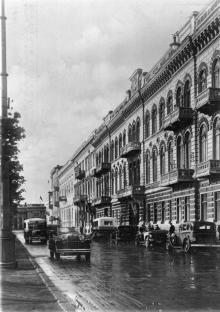 Одесса. Лондонская гостиница. Фото Гельфгата. Открытое письмо. 1930-е гг.