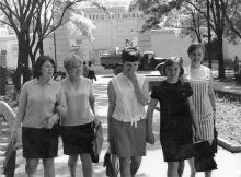 Ул. Комсомольская (Старопортофранковская), кинотеатр им. 1 мая. Одесса. 1972 г.