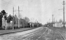 Французский бульвар угол Кирпичный переулок, дача Н.П. Рашевского