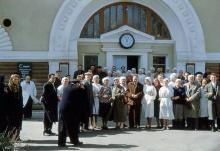 Пролетарский (Французский) бульвар, на заводе шампанских вин, 1956 г.