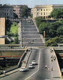 На Потемкинской лестнице, 1959 г.
