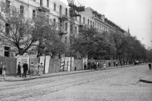 Оперный театр, вид с ул. Ленина (Ришельевской), 1959 г.