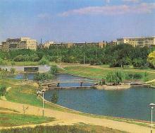 Парк им. В.И. Ленина, 1970-е годы
