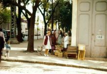 Чичерина (Успенская) угол Свердлова (Канатная), фотограф Кенно Туоминен, 1976 г.