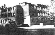 Свердлова (Канатная) угол Карла Либкнехта (Греческая), 1945 г.