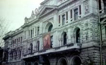 Здание почтамта, фотограф В.Г. Никитенко, 1975 г.