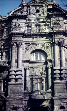 Дом Русова, ул. Садовая, 21, фотограф В.Г. Никитенко, 1975 г.